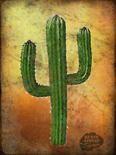 CACTUS MEXICAN RETRO RUSTIC VINTAGE STYLE METAL SIGN HOME DECOR LOVELY GIFT