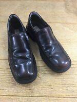 Men's Borelli Classics Dress Shoes Size 12 Dark Brown Leather Slip On