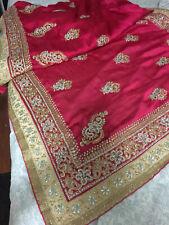 Indian-Pakistani-Bollywood Bridal heavy Stone Work All Over-chiffon-Saree-bridal