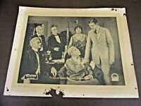 "1918 B&W Paramount Pictures Lobby Card ""Less Than Kin"""