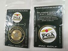 2016 PGA CHAMPIONSHIP GOLF Mondomark 2 BALL MARKERS Jimmy Walker