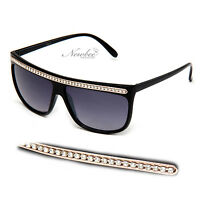 Snooki Sunglasses Long Chain Women GaGa Glasses Jersey Shore Celebrity