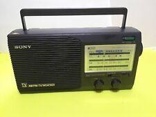 Sony TV Sound AM/FM/TV/Weather Radio  Portable
