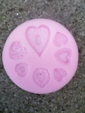 Silicone mould 7 designs, chocolate, icing, resin, soap, cake making