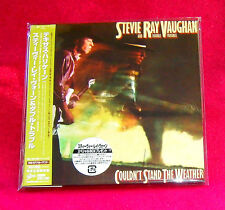 Stevie Ray Vaughan Couldn't Stand The Weather JAPAN MINI LP CD EICP-1174