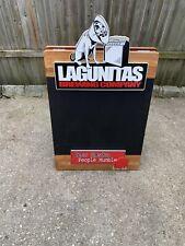"Lagunitas Brewing Company Chalkboard Beer Bar Sign Board ""New"""