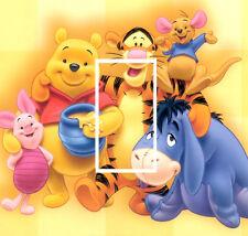 Disney Winnie The Pooh Light Switch Sticker Kids/Bedroom #168
