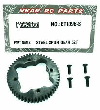 Vkar Racing 52T Steel Center Diff Spur Gear ET1096-S Upgrade Parts For RC Buggy
