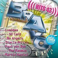 Bravo Hits 43 (2003) 50 Cent, Lumidee, Stacie Orrico, No Angels, Soniqu.. [2 CD]