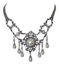 Trachtenschmuck Dirndl Collier Antikschmuck Replikat Trachtenkette Perle