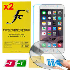 2 X 9H HD Flexible Tempered Glass Screen Protector Shield for Apple iPhone 7