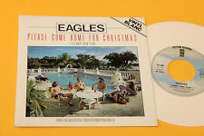 "EAGLES 7"" PLEASE COME HOME FOR CHRISTMAS ORIG FRANCE 1978 VINILE BIANCO MINT"
