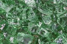 "20 Lbs 1/4"" EMERALD FireGlass Gas Fireplace, Fire Pit Glass,Rocks,Crystals"