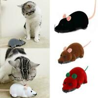 Funny Electronic Mouse Toy Remote Control Pet Cat Interactive Mouse Toy F5L8