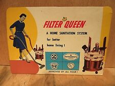 Vintage Advertising FILTER QUEEN   NEEDLE CARD complete with NEEDLES