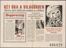 Hungary 2011 Yuri Gagarin/Astronauts/Rockets/Space Flight/People 1v m/s (n45113)