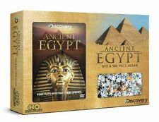 ANCIENT EGYPT DVD & 500 PIECE JIGSAW BOX SET, KING TUT'S MYSTERY TOMB OPENED DVD