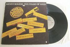 KENNY ROGERS Ten Years Of Gold (1977) LP VINYL - Liberty – 3C 054-60380