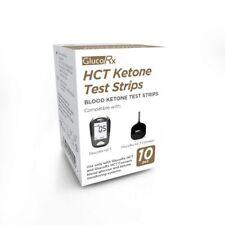 GlucoRx HCT Ketone Test Strips (10) Long Expiry Date