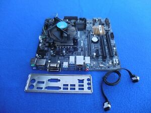 ASUS Intel Q170M-C Socket LGA 1151 DDR4 Micro ATX Motherboard I/O Heat Sink Fan