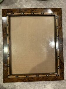 Picture Frame 8x10 Ornate Art Deco Overall 10x12 Horizontal or Vertical