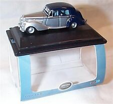 Bentley MkV1 Midnight Blue and Shell Grey 1-76 Scale Mib