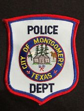 CITY OF MONTGOMERY TEXAS POLICE DEPT. PATCH--B03