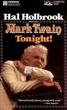 Mark Twain Tonight! by Hal Holbrook (2004, Cassette, Abridged)
