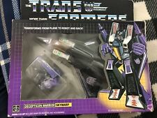 Transformers G1 SKYWARP MIB 100% Complete 1984 AUTHENTIC *Perfect Missile Tips*