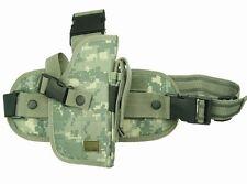 ACU Digital Tactical Right Handed Drop Leg Gun Holster BB Airsoft Pistol 207AR