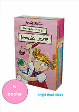 THE ADVENTURES OF AMELIA JANE - 5 Books by Enid Blyton inc Good Idea, Gets into