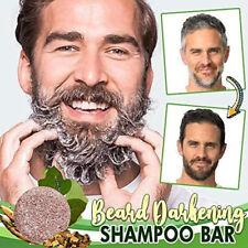 Beard Darkening Shampoo Bar Beard Wash Bar Hair Darkening Shampoo Soap for Men