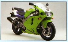 2 COLOUR KAWASAKI TOUCH UP PAINT KIT ZX7R 1996 LIME GREEN & JET SKI VIOLET.