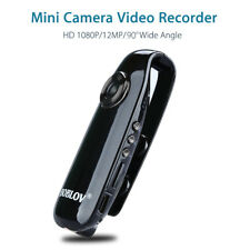 1080P Full HD Mini 90° Camera Dash Cam Police Body Bike Camcorder Motion Detect