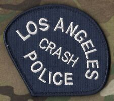 LOS ANGELES POLICE AUTHENTIC LAPD ⭐(CRASH) SHOULDER SLEEVE INSIGNIA νeΙ©®😎SSI