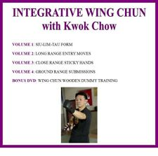 Wing Chun Series (5) Dvd Set siu lim tau sticky hands wooden dummy kung fu