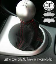 Red Stitch pour HONDA CIVIC FK2 S TYPE S 2006-2012 Gear Cuir Véritable Gaiter