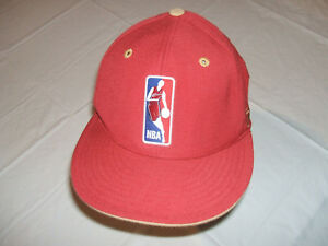 Cleveland Cavaliers NBA Logo Wearing Cavs Jersey Reebok Fitted 7 1/2 Hat