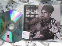 Michael Franti And Spearhead Yell Fire! Anti Records 1266-2 UK Promo CD Single