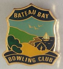 Bateau Bay Bowling Club Badge Rare Vintage (L1)