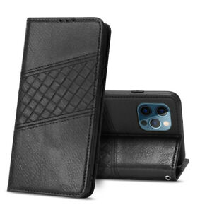 Premium Bow Tie Leather Wallet Flip Case Cover Card Holder For iPhone 12 Pro Max