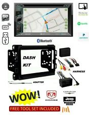 2013-2017 DODGE RAM CAR STEREO KIT, BLUETOOTH USB GPS NAV