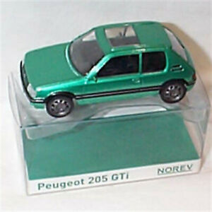 Peugeot GTI 1.9 Metallic Green 1-43 scale new in box Norev