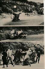 Accident Course Auto 1955 - Pilote Ian Wilson Belfast Irlande - PR 7