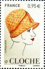 """TIMBRE FRANCE NEUF 2018 """"les chapeaux cloche"""" Y&T 5277"""