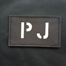 GLOW IR PJ PARARESCUE JUMPER SPECIAL TACTICAL 3D ARMY MORALE HOOK LOOP PATCH #01