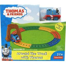 THOMAS & FRIENDS AROUND THE TRACK WITH THOMAS 100% Brand New