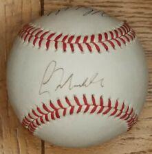 Tony Gwynn, Greg Maddux, Mike Maddux Signed Baseball,  Rawlings OLB Autographed
