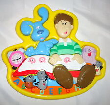 Blues Clues 3D Puzzle Plastic Preschool Learning Aid Homeschool Daycare Vintage