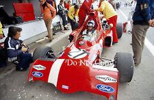 Ronnie Peterson STP March 721 Spanish Grand Prix 1972 Photograph 2